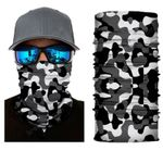 Face Mask and Neck Warmer with Dust and Sun UV Protection (Camouflage S82)