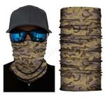 Face Mask and Neck Warmer with Dust and Sun UV Protection (Camouflage S208)