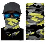 Face Mask and Neck Warmer with Dust and Sun UV Protection (CLASSIC CAMOUFLAGE S172)