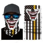 Face Mask and Neck Warmer with Dust and Sun UV Protection (Joker-M)
