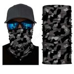 Face Mask and Neck Warmer with Dust and Sun UV Protection (Camouflage S211)