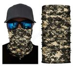 Face Mask and Neck Warmer with Dust and Sun UV Protection (Camouflage S212)