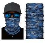 Face Mask and Neck Warmer with Dust and Sun UV Protection (Camouflage S219)