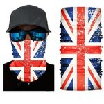 Face Mask and Neck Warmer with Dust and Sun UV Protection (Flag S1003)