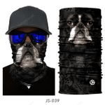 COOL DOG 3D SEAMLESS BANDANA