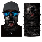 WOLF FACE MASK AND NECK WARMER