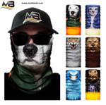 3D Animal Winter Warmer Fleece Dog Cat Lion Snowboard Motorbike Head Shield Balaclava