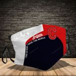 Cleveland Indians-MA-3D-Face-Mask