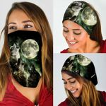 Wolves And The Moon Bandana Mask THB1944BN