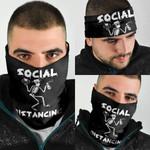 Social Distancing Skeleton Bandana Mask QNK10BN