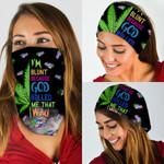 Weed High I'm Blunt Bandana Mask DDH1229