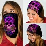 Colorful Skull Bandana Mask QNK13BN