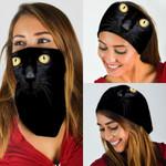 Black Cat Bandana Mask DDH1292