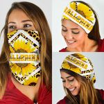 Ballerina Love What You Do Sunflower Leopard Bandana Mask DBX1268