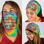 Hippie. Way Maker, Miracle Worker Bandana Mask THN1950BN