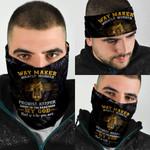 Jesus Way Maker Miracle Worker Bandana Mask QNK06BN