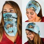 Nurse Should Wear Crown Bandana Mask QNK09BN