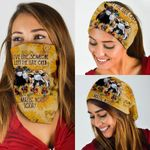 Cows Sunflower Not Today Funny Bandana Mask PN04BN