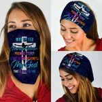 Way Maker Miracle Worker Promise Keeper Light In The Darkness Bandana Mask MLH782BN
