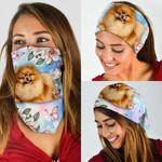 Pomeranian Bandana Mask DDH1299