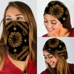 Leopard Sunflower Bandana Mask DDH1288