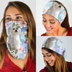 Maltese Dog Bandana Mask DDH1297