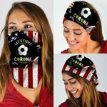Fight Against Corona Together, Soccer Bandana Mask DBX1237
