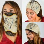 Caregiver Vintage Mandala Bandana Mask DBX1306