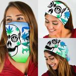 Weed Skull Bandana Mask DDH1227