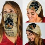 Skull - And Into The Forest I Go To Lose My Mind Bandana Mask MLH770BN