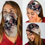 Floral Skull Bandana Mask DBX1280