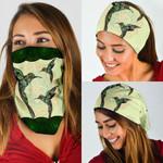Hummingbird Mandala Bandana Mask QNK29BN