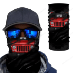 [UNIQUE] Jeep Inside Me Red Magic Bandana