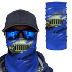 [UNIQUE] Jeep Inside Blue Background Magic Bandana
