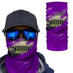 [UNIQUE] Jeep Inside Purple Background Magic Bandana