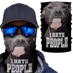 [EXCLUSIVE] Dogs I Hate People Cute Bandana
