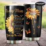 You Are The World Customized Tumbler Gift For Mom