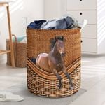 Horse's Lovers Laundry Baskets Premium Gift