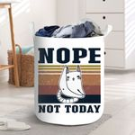 Cat Not Today Laundry Baskets
