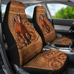 PREMIUM Horse Leather Lover Car Seat Covers