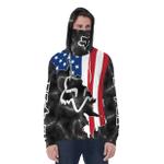 [PREMIUM] America FX Inside Multicolor-Black With Neck Gaiter