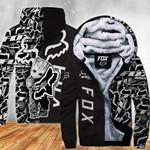 [PREMIUM] FX Grut Black Mix Fleece Zip Up Hoodie