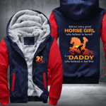 [LIMITED EDITION] HORSE GIRL DADDY BELIEVED FLEECE ZIP HOODIE