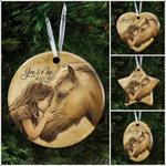 [PREMIUM] You And Me We Got This Horse Hug Ceramic Ornament