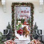 [PREMIUM] All Hearts Come Home For Christmas – Horse Door Cover