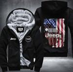 Jeep Patriot Jeep Inside Fleece Zip Hoodie