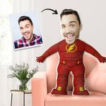 FACE PILLOW CUSTOM BODY PILLOW PERSONALIZED BEST GIFT IRON MAN