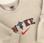 Inspired by Nike Spiderman Embroidered Crewneck Sweatshirt, T-Shirt, Hoodie Full Colors|Vintage Nike Inspired Shirt|Trendy Sweatshirt