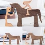 Wood Sculpture for Horse Lover Horse Lover Gift