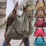 Julia - Women Canvas Messenger Bag